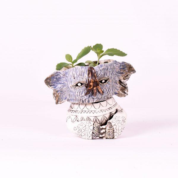 Monster plant pot